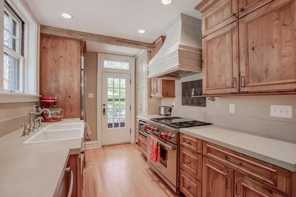 Custom Cabinetry, Concrete Countertops, and Top of the Line Stainless Steel Appliances