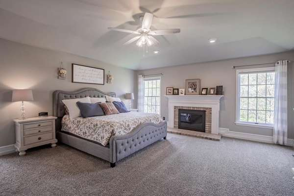 The Master Bedroom is Truly a Retreat!