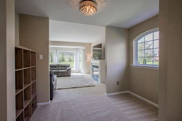 Cozy Nook In-between the Living Room and Family Room