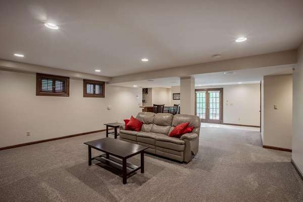 Walkout Lower Level - Rec Room