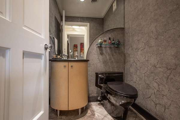 Stylish Powder Room