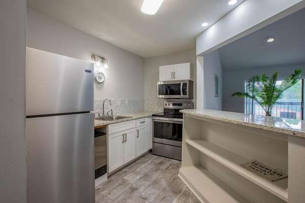 Party Room Offers a Full Kitchen