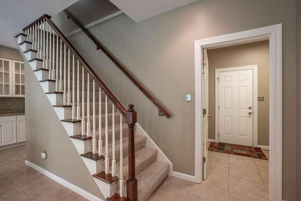 Take the Front or Back Staircase to the Upper Level!