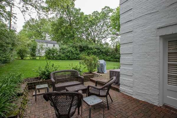 Enjoy the Privacy of the Beautifully Landscaped, Level Backyard