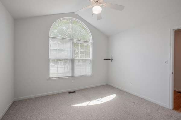 2nd Bedroom with Vaulted Ceiling