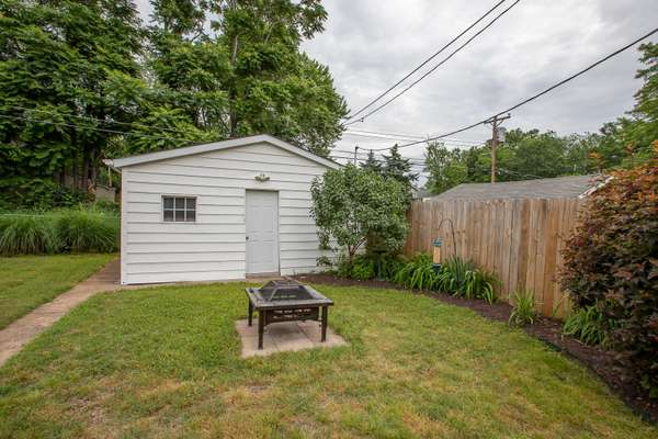 Fully Fenced Backyard and Offers a 2-car garage
