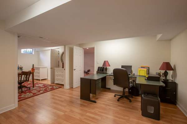 Find 2 additional rooms ~ perfect for a home Office, Media Room, Sleeping Room, or Fitness Room!