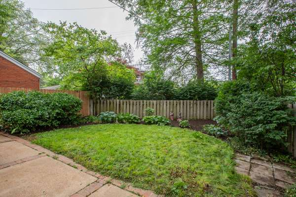 Easy to Maintain Landscaping, Perennials, and Fenced-In Yard