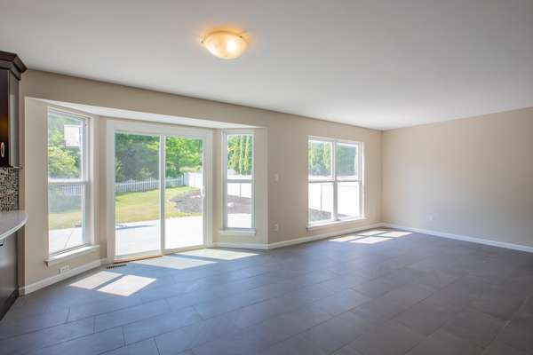 Adjoining Breakfast Room with Access to the Patio