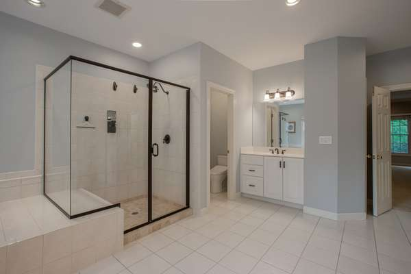 Dual Vanities, Jetted Tub, and a Separate Walk-in Shower