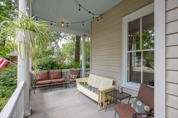 Expansive Covered Front Porch