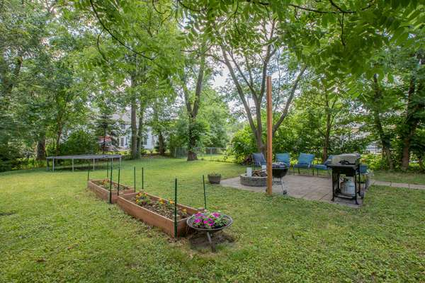 Fully-Fenced Park-Like Yard