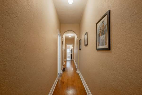 Hallway of Unit 1E