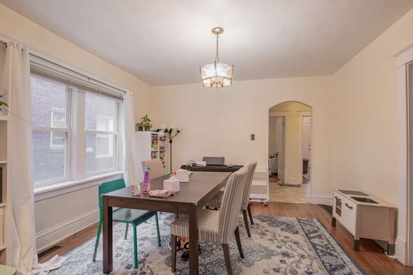 Dining Room of First Floor Unit