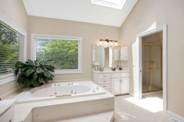 Jetted Tub, Separate Shower