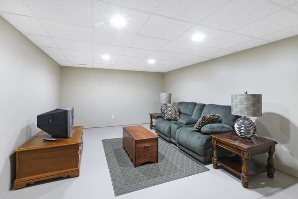 Partially Finished Office/Sleeping Room