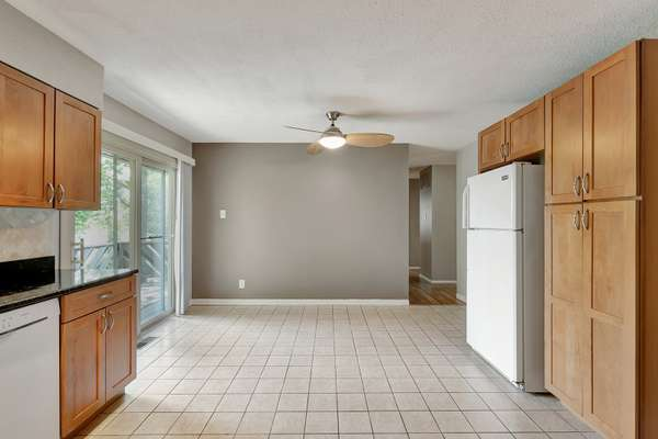 Dining Area Offers Access to the Rear Deck