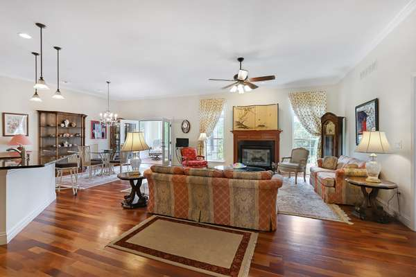 Tall Ceilings, Recessed Lighting and Large Windows that Provide an Abundance of Natural Light!