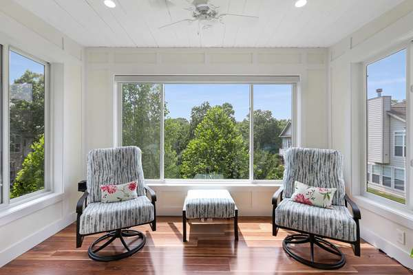 Spend Time Reading a Good Book in the Sunroom!