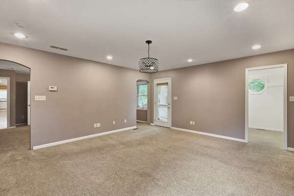Master Suite Offers an Adjoining Sitting Room