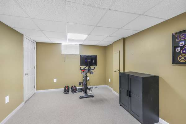 Perfect Space for an Office or Exercise Room