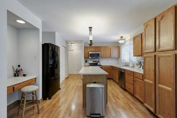 Large, Eat-in Kitchen