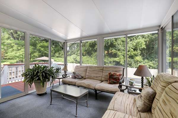 Bright and Airy Sunroom