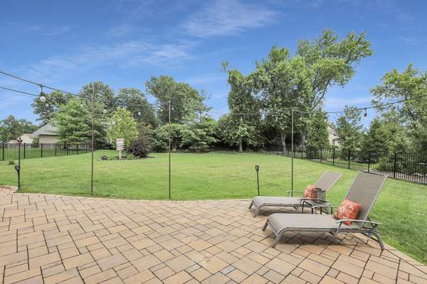 Level, Fenced-in Backyard