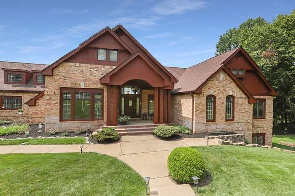 Spectacular, custom built ranch, designed by Dick Busch and built by Dean Tieber