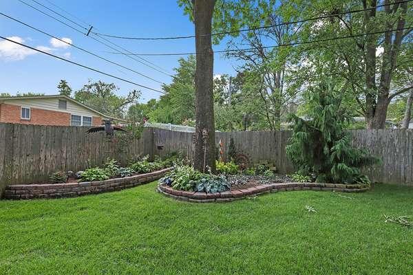 Fully Fenced-in Yard