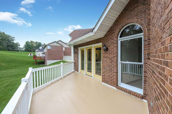 Master Suite finds Additional Access to the Spacious Deck