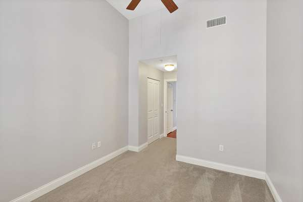 Ceiling Fans in Both Bedrooms!