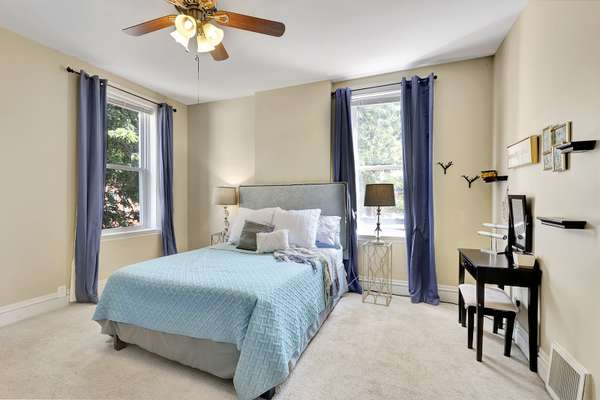 Second Floor Features the Spacious Master Bedroom with a Walk-In Closet