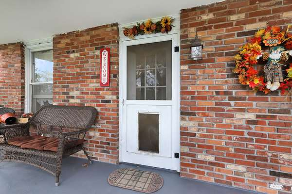 Covered Front Porch